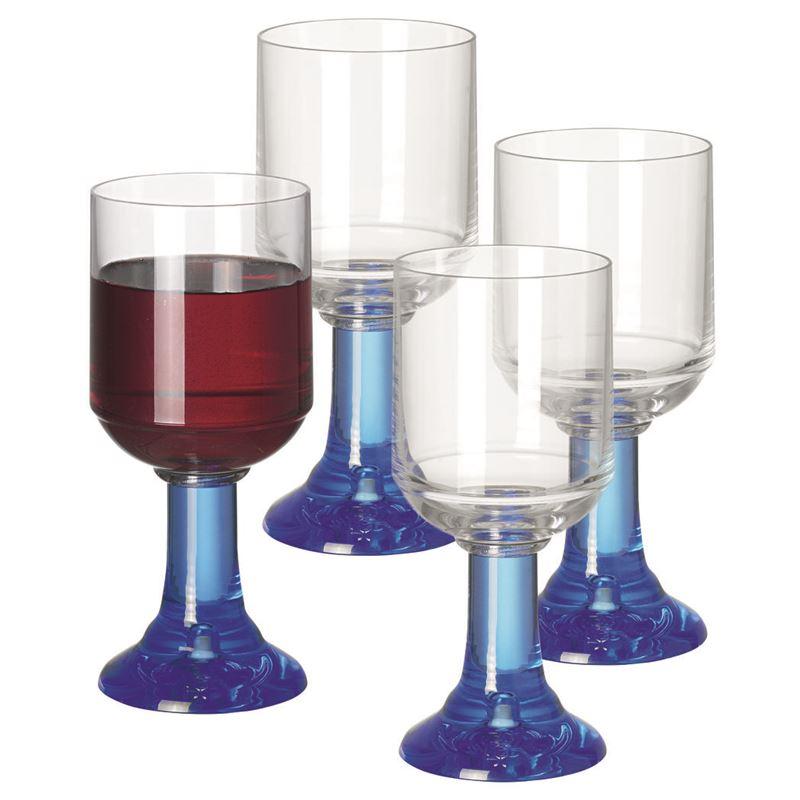 Serroni – Ventetian Blue Red Wine Glass 330ml set of 4