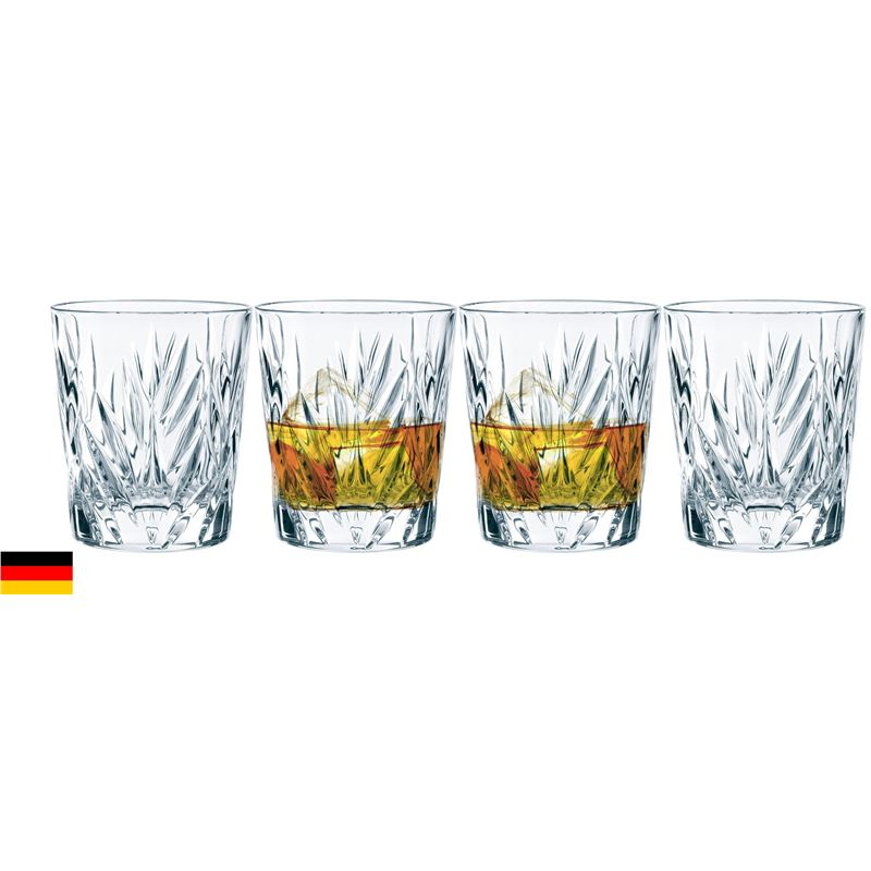 Nachtmann Crystal – Imperial Whisky 310ml Premium Set of 4 (Made in Germany)