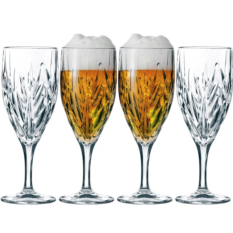 Nachtmann Crystal – Imperial Beer/Water Glasses 340ml Set of 4 (Made in Germany)