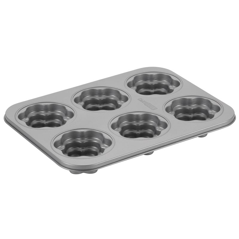 Cake Boss – Non-Stick 6 Cup Cakelette Pan Groovy Girl