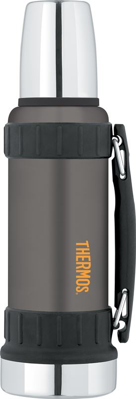 Thermos – Work Series Vacuum Insulated Flask 1.2Ltr Gunmetal Grey