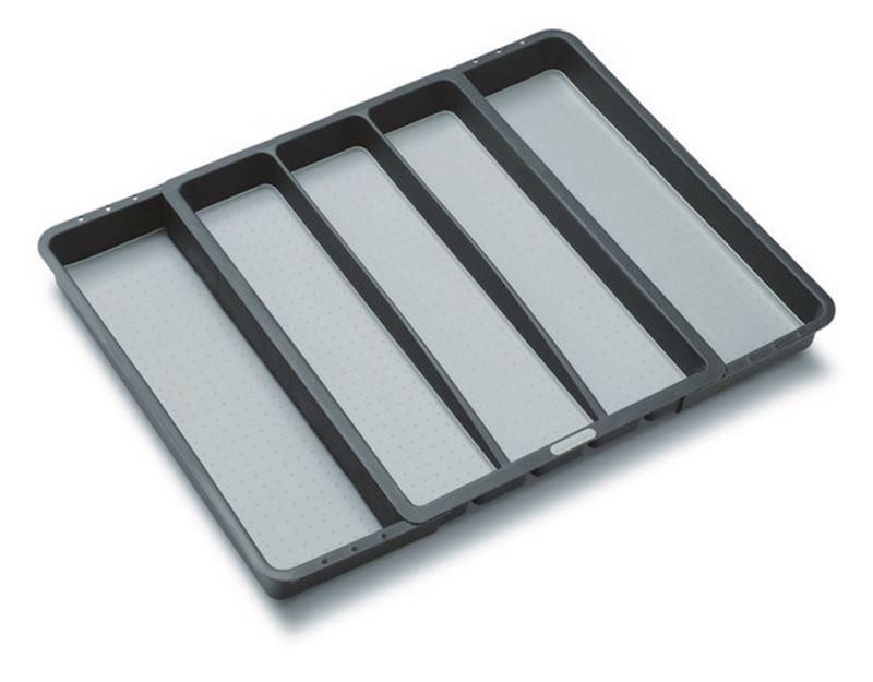 MadeSmart – Expandable Utensil Tray 40.79×33.66×5.08cm – Granite