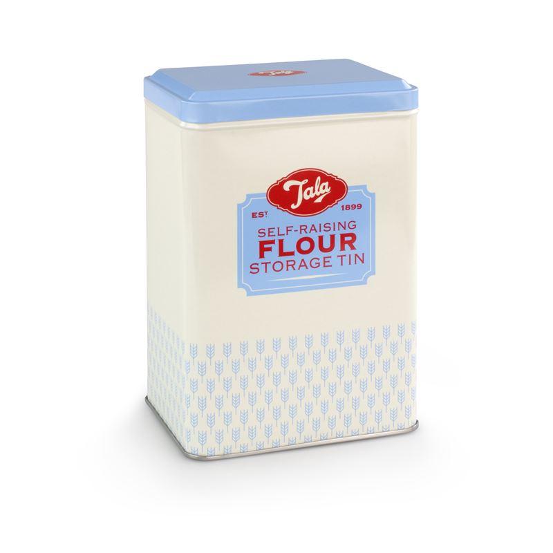 Tala – Self-Raising Flour Storage Tin 12x9x18.5cm 1kg