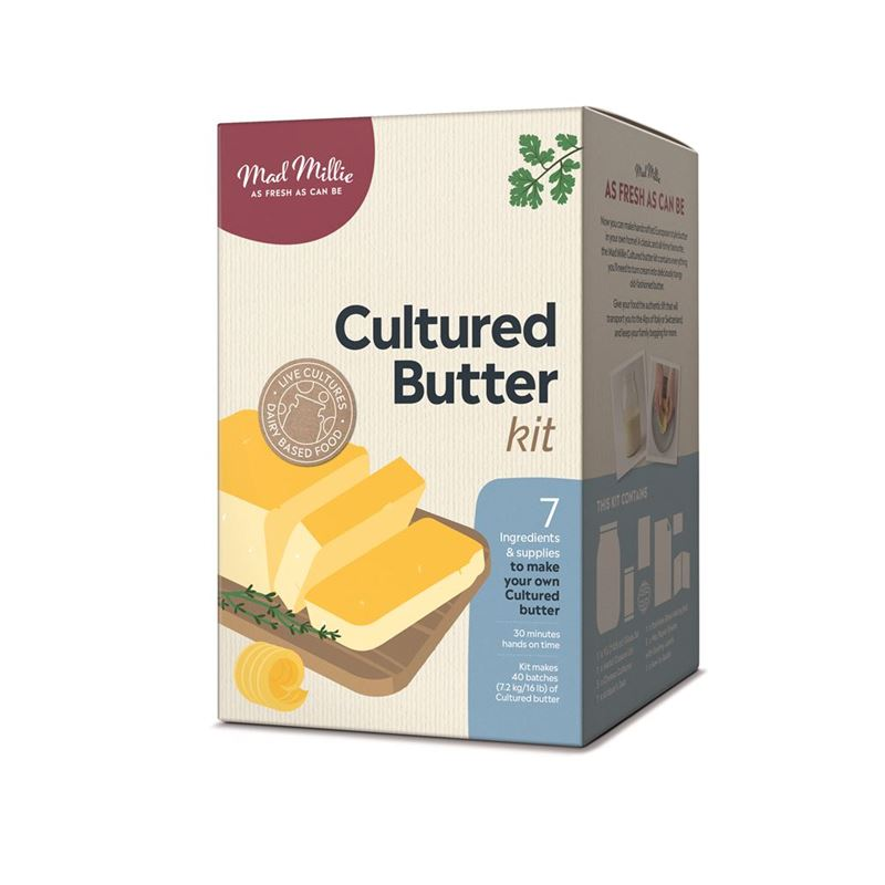 Mad Millie – Cultured Butter Kit
