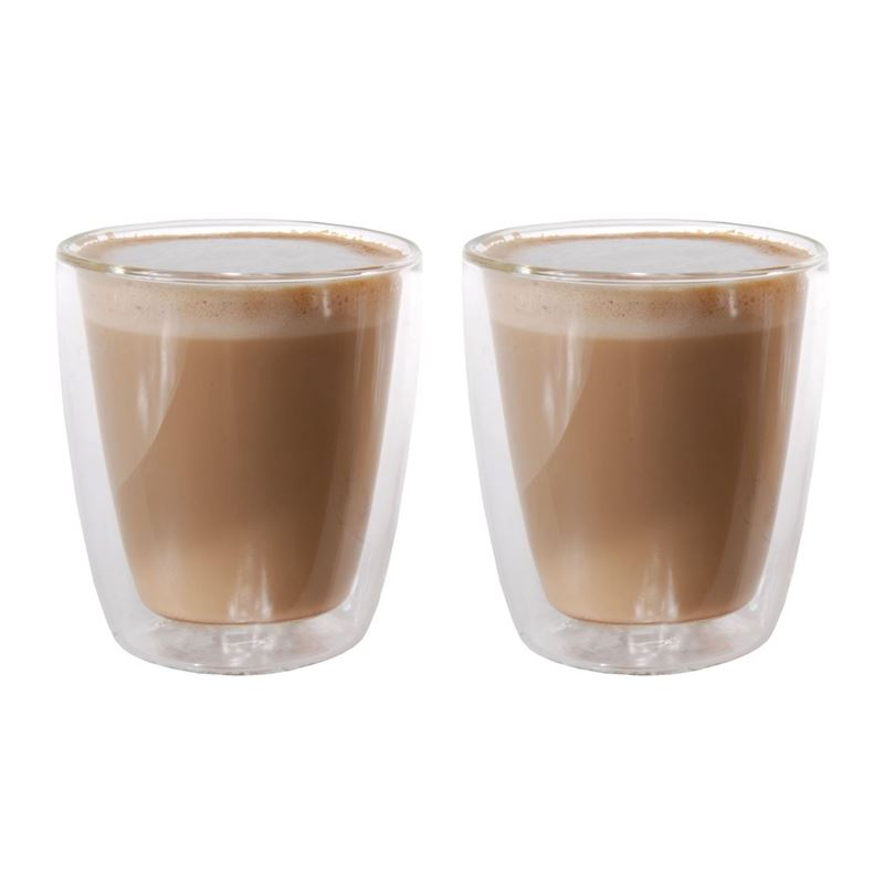 Zuhause – Konrad Set of 2 Double Wall Piccolo Glasses 150ml