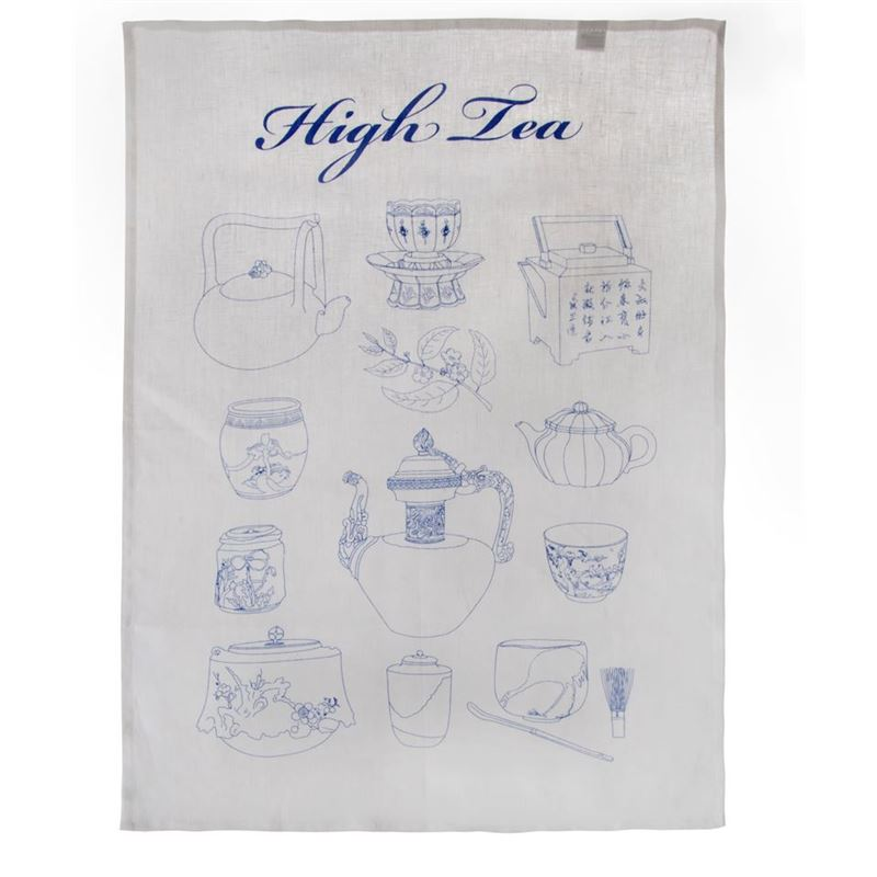 Dan Samuels – High Tea 100% Linen Tea Towel 50x70cm