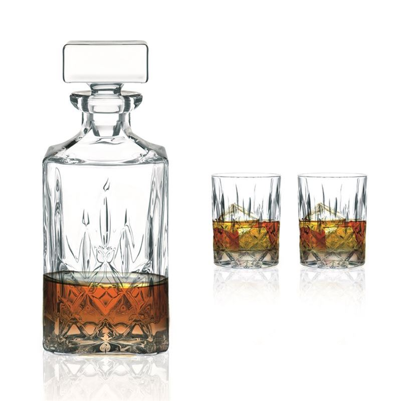 Nachtmann Crystal – Noblesse Whisky 3pc Set (Made in Europe)