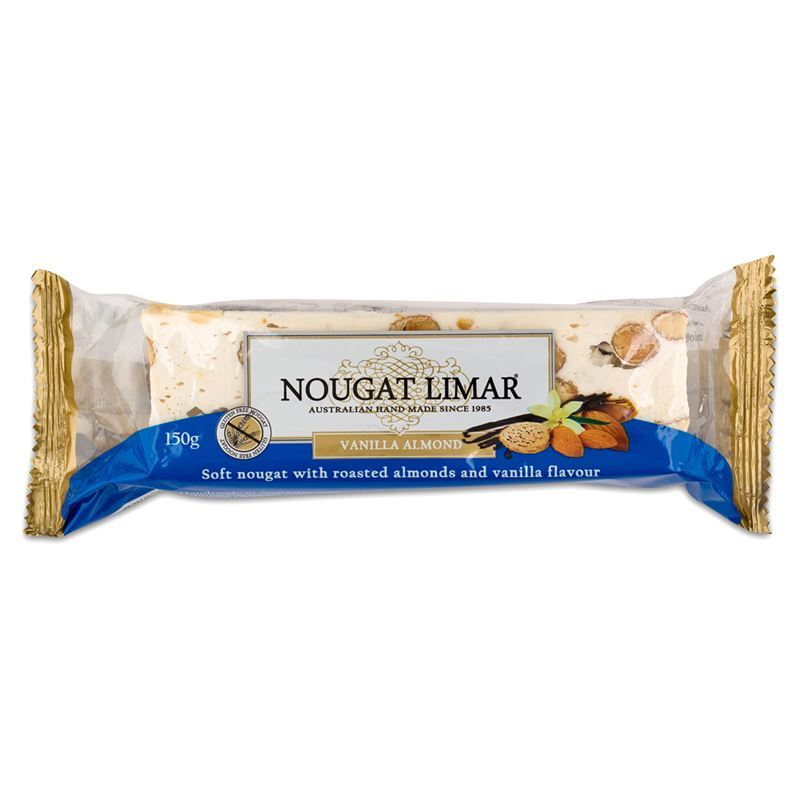 Nougat Limar – Vanilla Almond Nougat Half Log 150g(Made in Australia)
