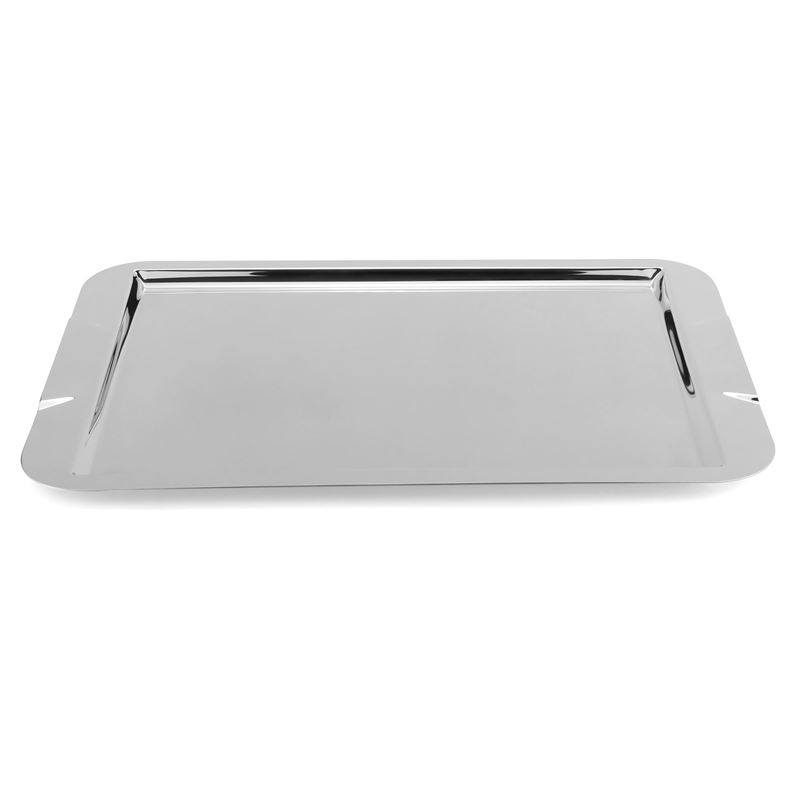 Zuhause – Maxim Deluxe Stainless Steel Oblong Tray 50x35cm