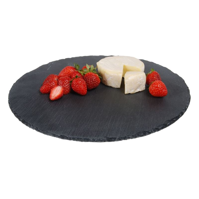 Zuhause – Aldo Slate Serving Board Round 30cm