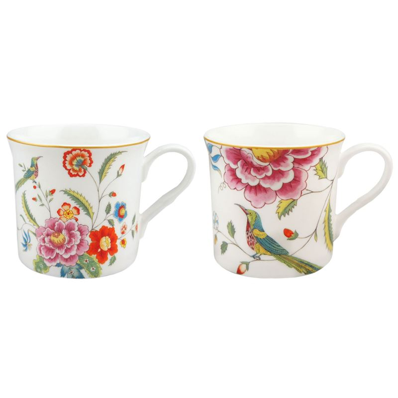 Dan Samuels – Imari Fine Bone China Set of 2 Mugs 300ml