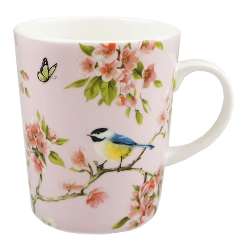 Dan Samuels – Blossom Bird Fine Bone China Mug 330ml Pink