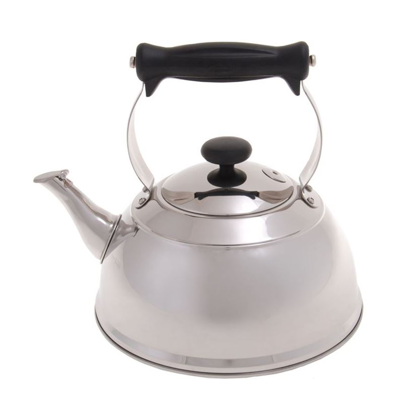 Zuhause – Karina Stove Top Polished Mirror Stainless Steel Whistling Kettle 2Ltr