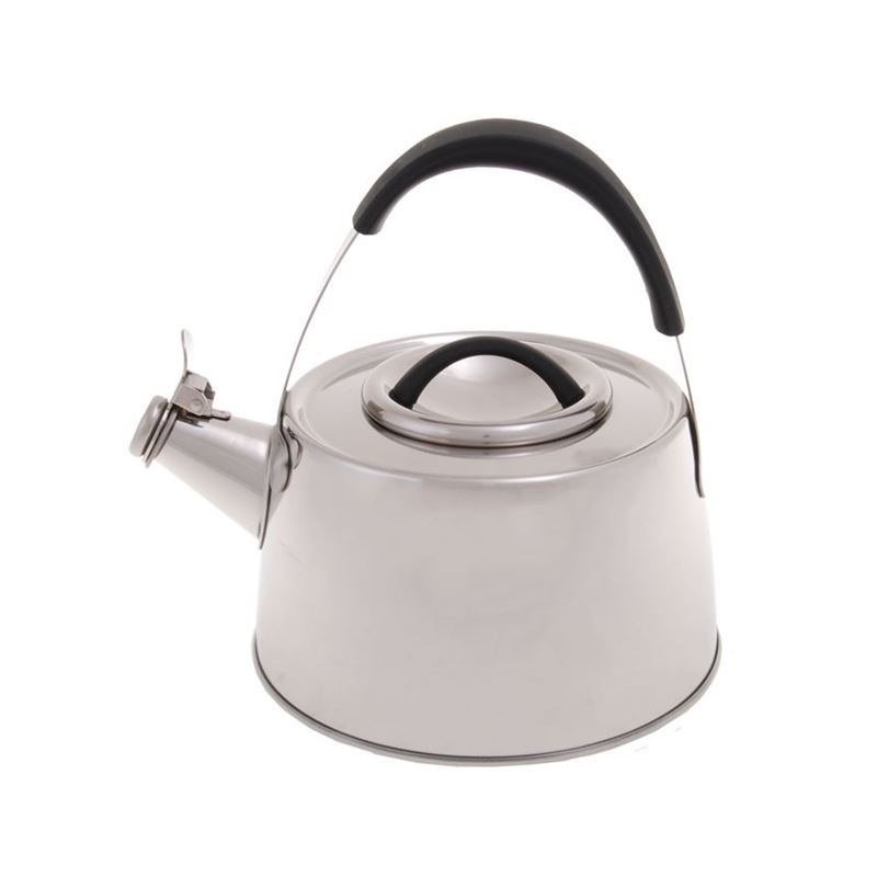 Zuhause – Kristoff Stove Top Brushed Satin Stainless Steel Whistling Kettle 2Ltr