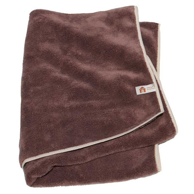 e-cloth for Pets – Clean & Dry Towel 100x50cm Brown
