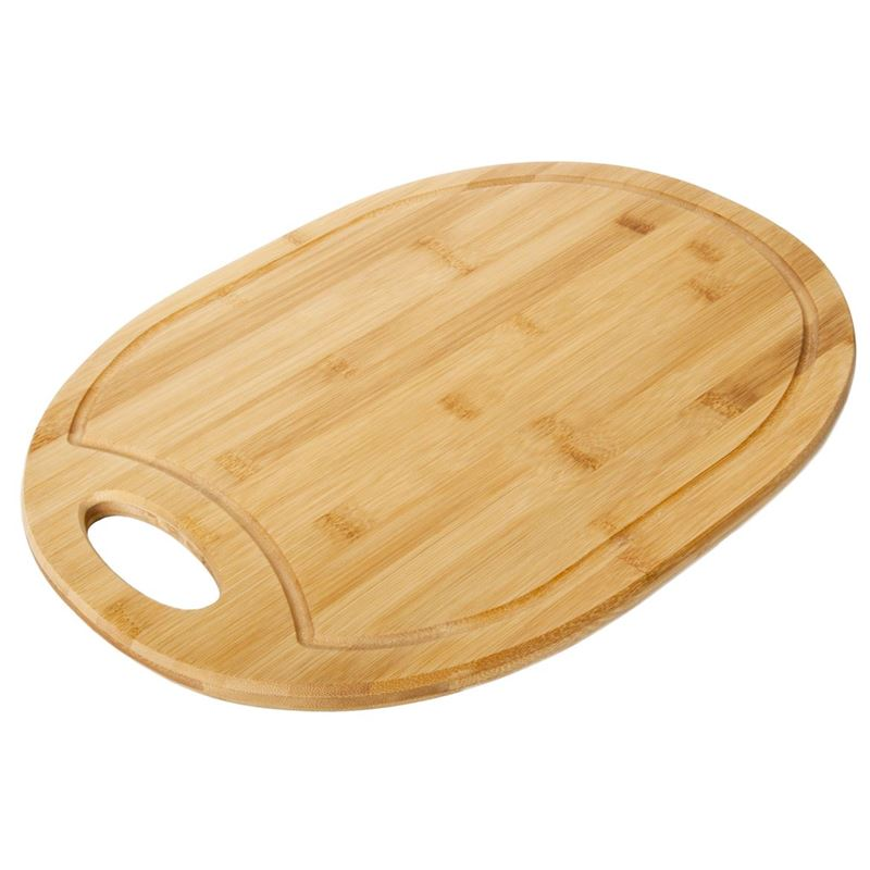 Benzer – Ecozon Bamboo Ovali Chopping/Serving Board Large 40x30x1.5cm