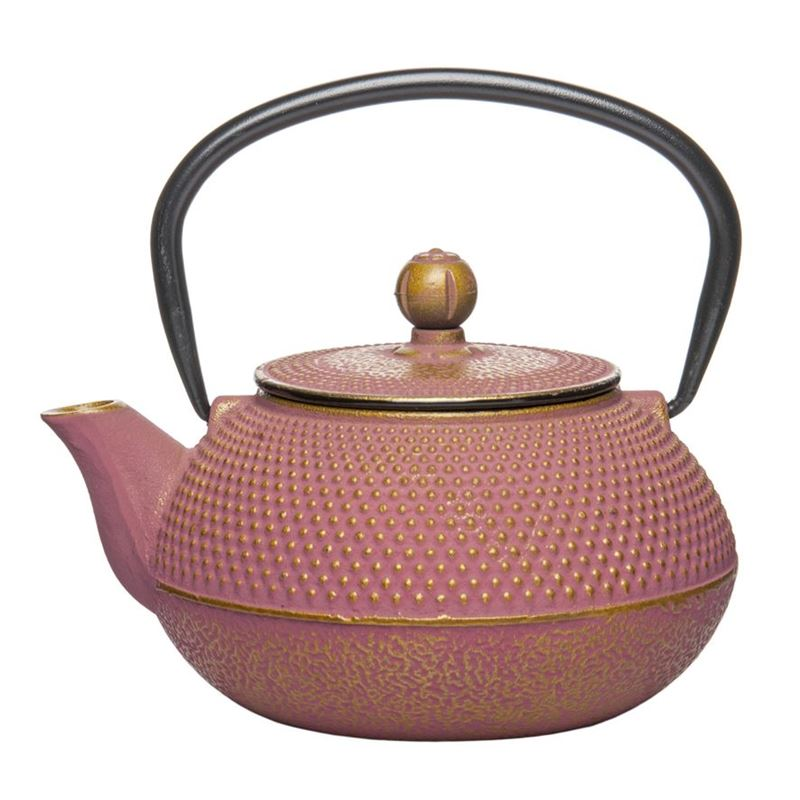 Benzer – Orient Express Zen Cast Iron Tea Pot Golden Pink 800ml