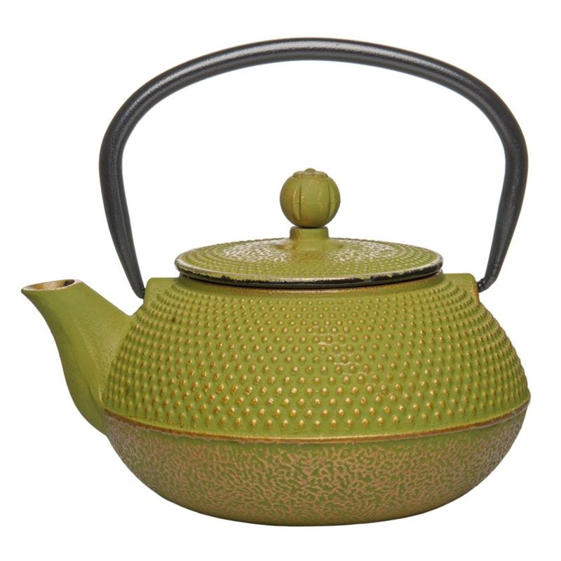 Benzer – Orient Express Zen Cast Iron Tea Pot Golden Green 800ml
