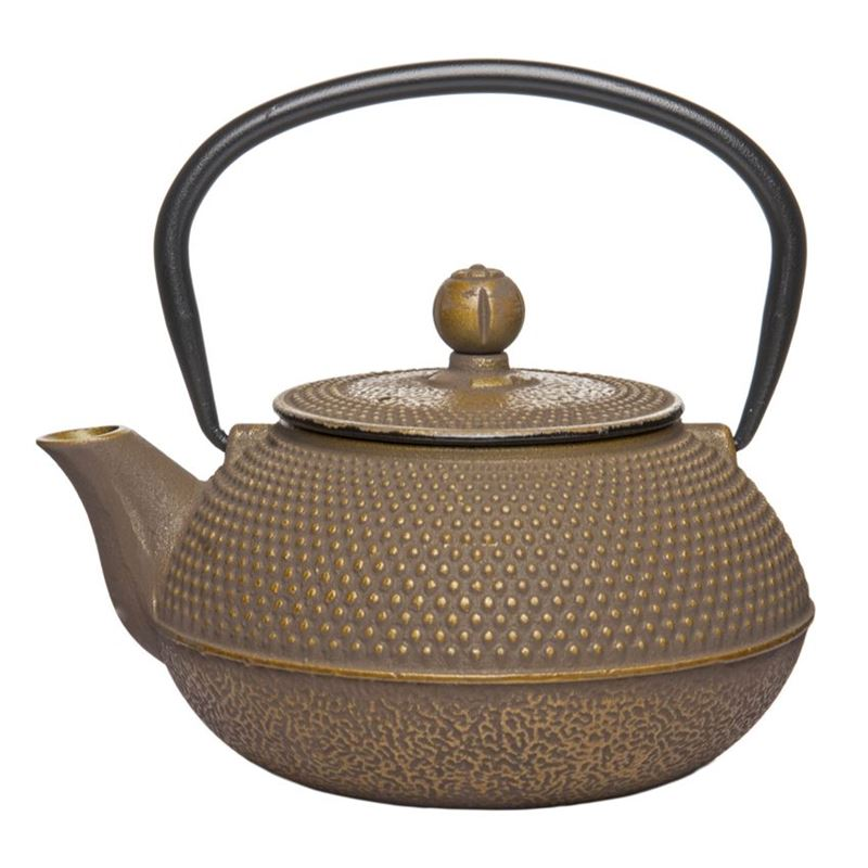 Benzer – Orient Express Zen Cast Iron Tea Pot Golden Grey 800ml