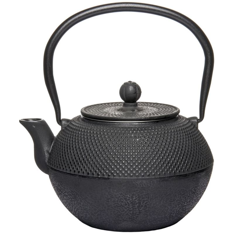 Benzer – Orient Express Zen Cast Iron Tea Pot Black 1.2Ltr