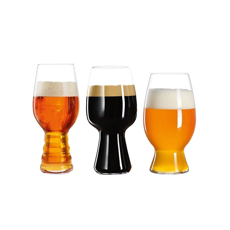 Spiegelau – Craft Beer Tasting Beer Set of 3 (Made in Germany)