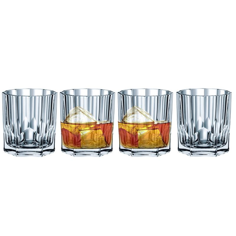 Nachtmann Crystal – Aspen Whisky 324ml set of 4 (Made in Germany)