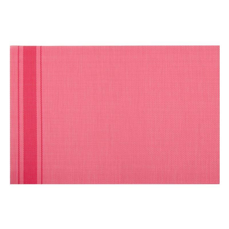 Zuhause – Newport PVC Woven Placemat 45x30cm Pink