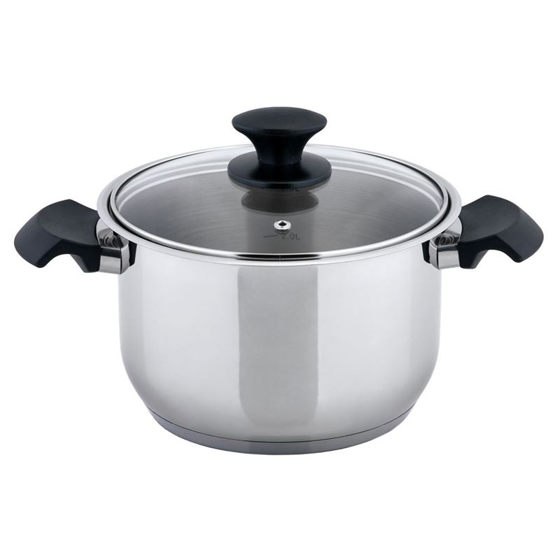 Benzer – Rosti 20cm 4Ltr Casserole with Lid 18/10 Stainless Steel