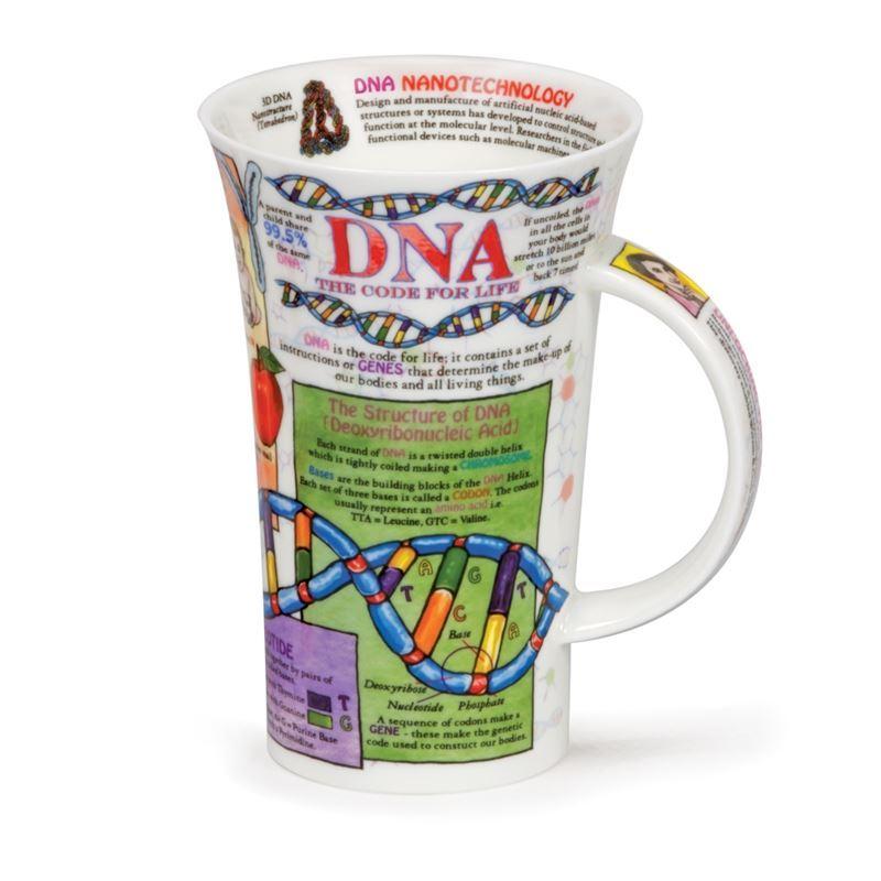 Dunoon – Glencoe Bone China Mug DNA (Made in England)