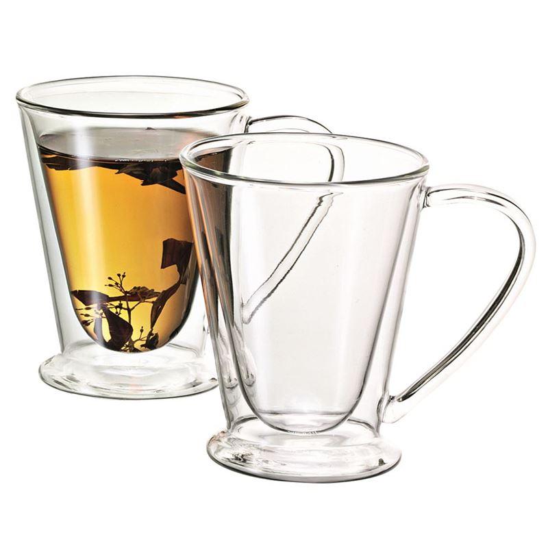Avanti – Double Wall HERO Glass Mug 250ml Set of 2