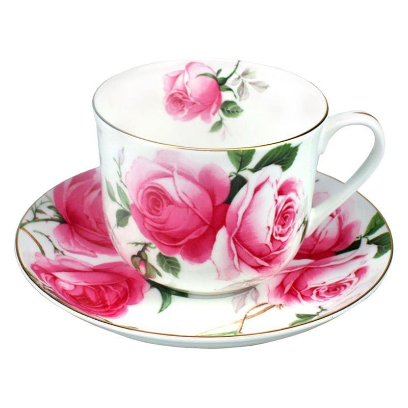 Dan Samuels – Florabelle Fine Bone China Breakfast Cup and Saucer 370ml Alice
