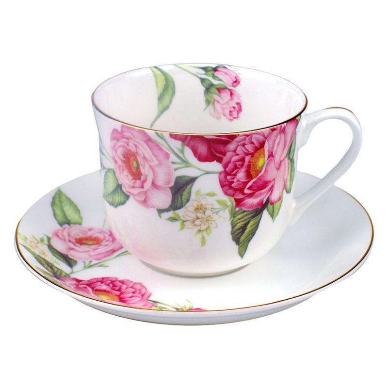 Dan Samuels – Florabelle Fine Bone China Breakfast Cup and Saucer 370ml Primrose