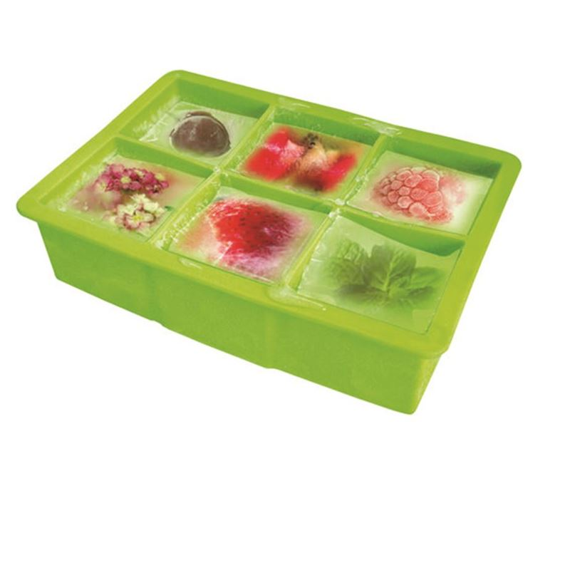 Vin Bouquet – Silicone Square Ice Cube Tray Green