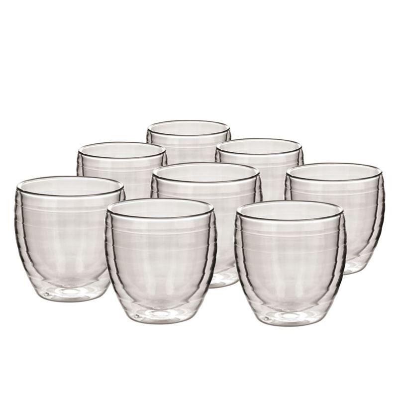 Avanti – Ripple Twin Wall Glass 250ml Set of 8