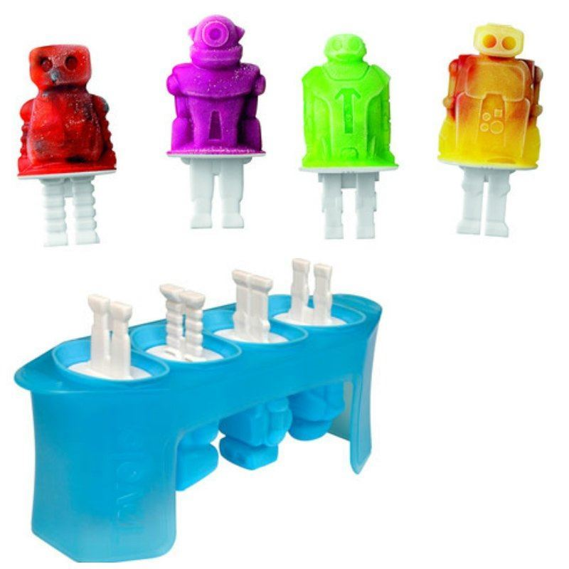 Tovolo – Robot SET OF 4 Pop Ice Mould