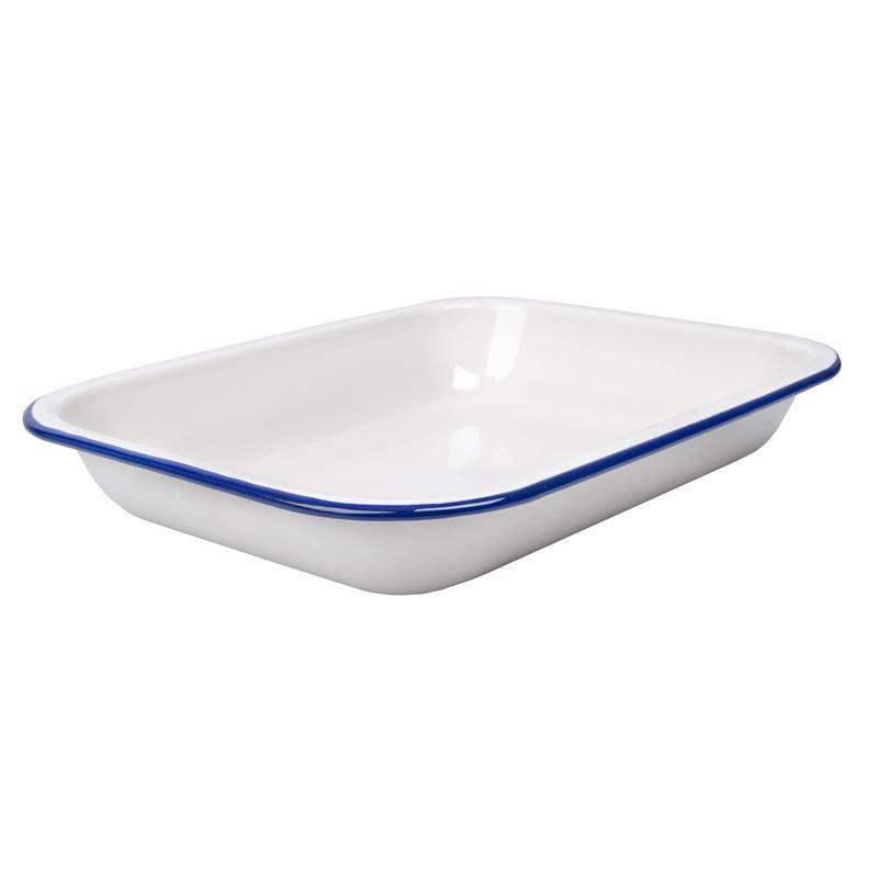 Wiltshire – Enamel Oblong Pie/Baking Dish 26x20cm 1.5Ltr