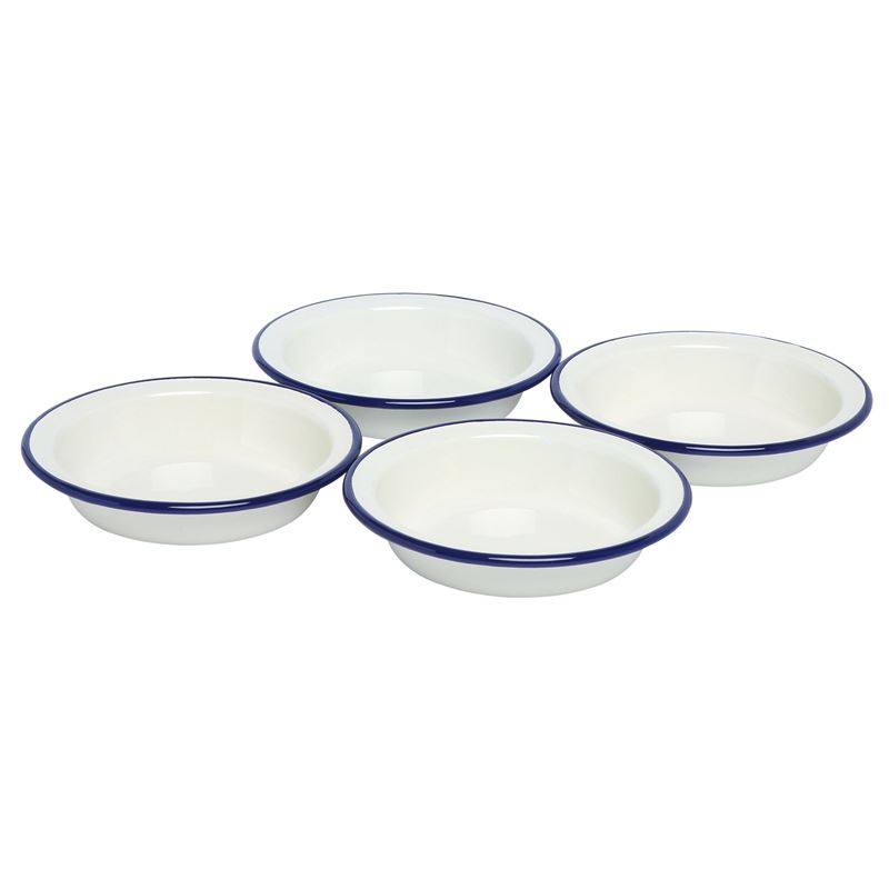 Wiltshire – Enamel Pie Dish 14cm set of 4