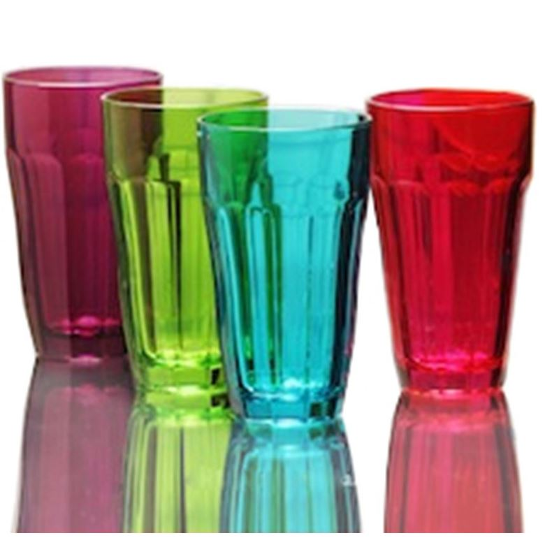 Circleware – Overture Coloured Highball 12oz 350ml Set of 4