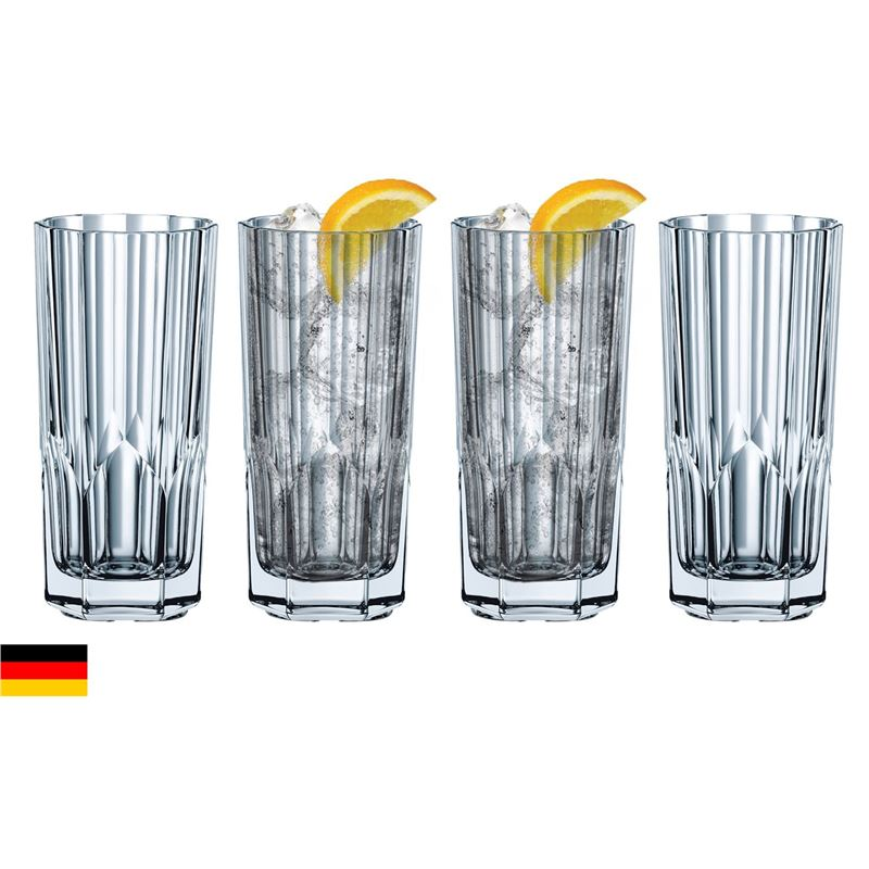 Nachtmann Crystal – Aspen Long Drink 280ml set of 4 (Made in Germany)