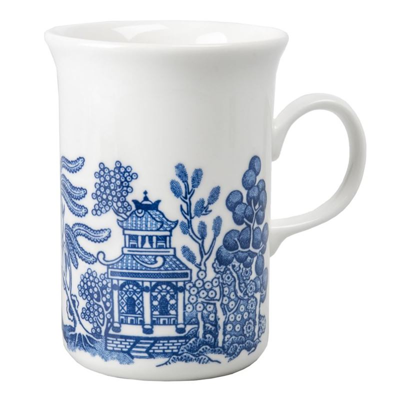 Churchill – Blue Willow Sheraton Mug 240ml (Made in England)