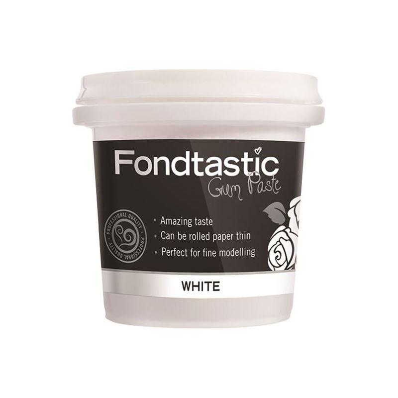 Fondtastic – Gum Paste White 225g (Made in Canada)