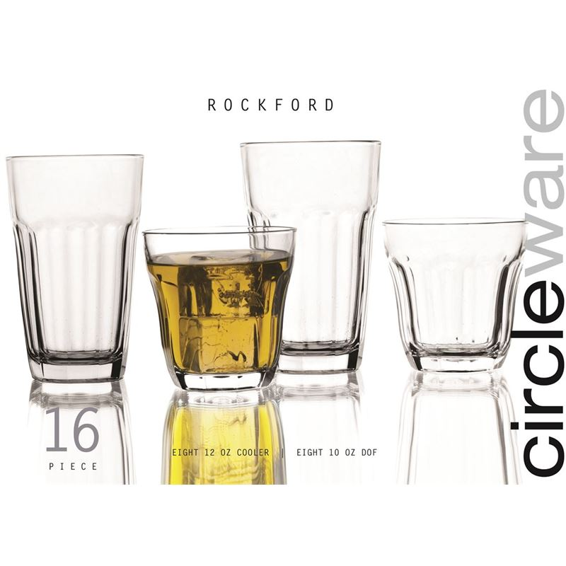 Circleware – Rockford 16 piece Entertaining Set