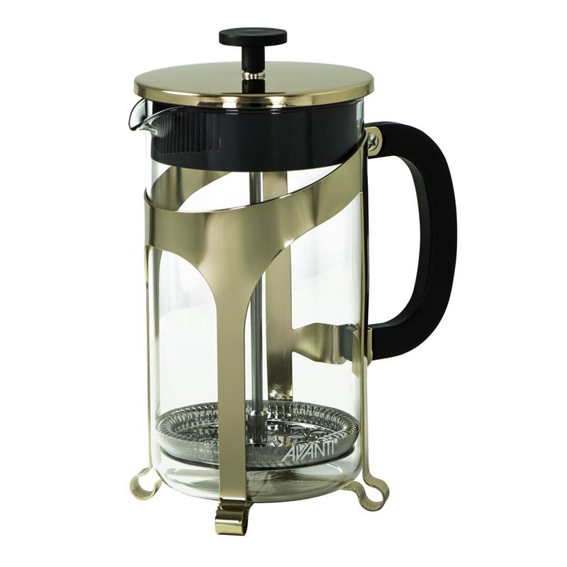 Avanti – Ambassador Gold Café Press Coffee Plunger 8 Cup 1Ltr