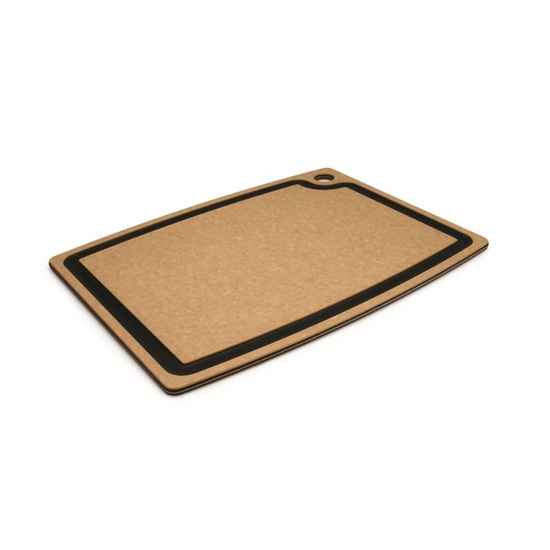 Epicurean – Gourmet Cutting Board 44x33cm Natural/Slate (Made in the U.S.A)