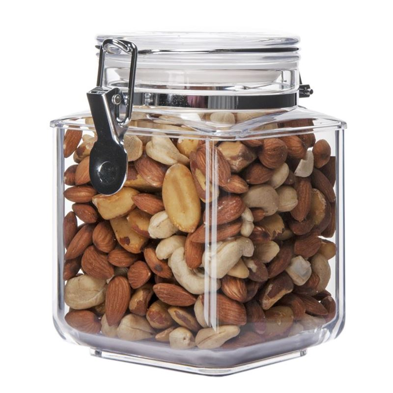 Benzer – Stor-Tite Square BPA Free Canister 1Ltr  13.5x11x15.6cm