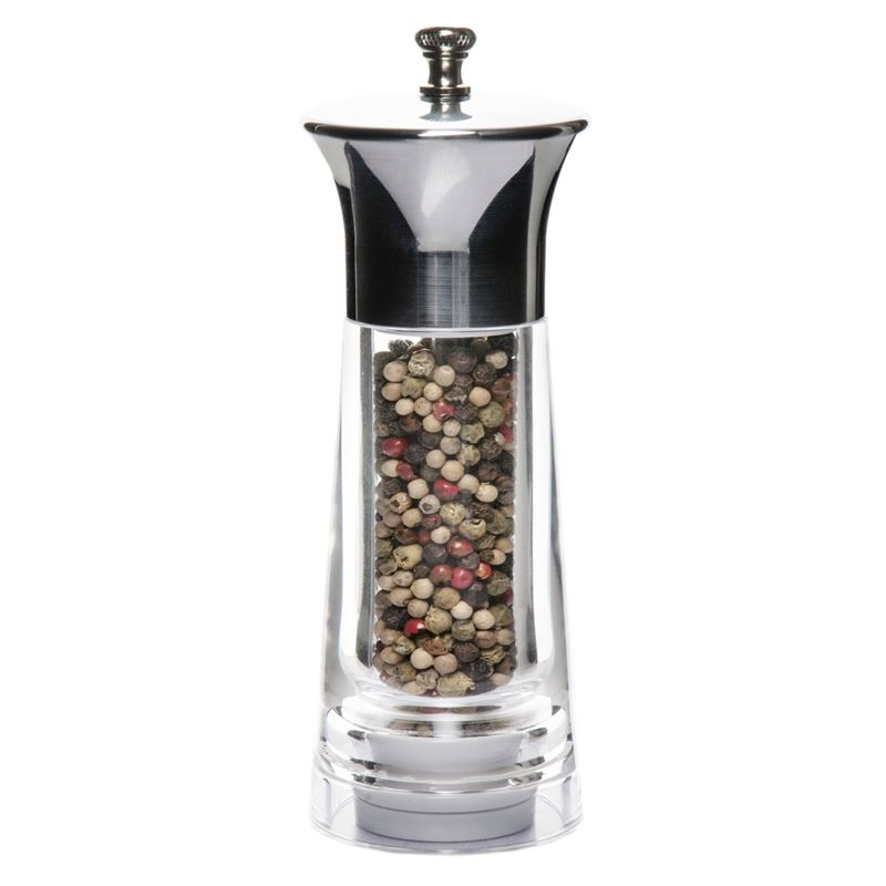 Benzer – Baron Premium Grind Acrylic with Chrome Pepper Mill 15cm