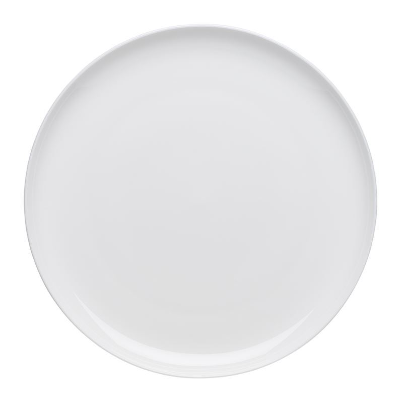 Ecology – Canvas White Fine Bone China Dinner Plate 27cm