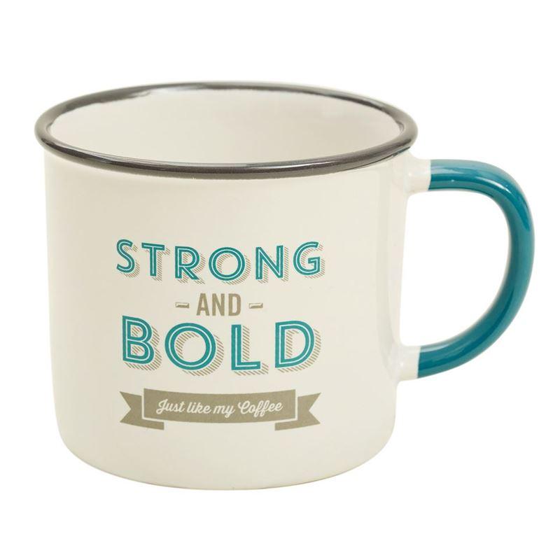 Jamie Oliver- Slogan Mug Strong & Bold 340ml