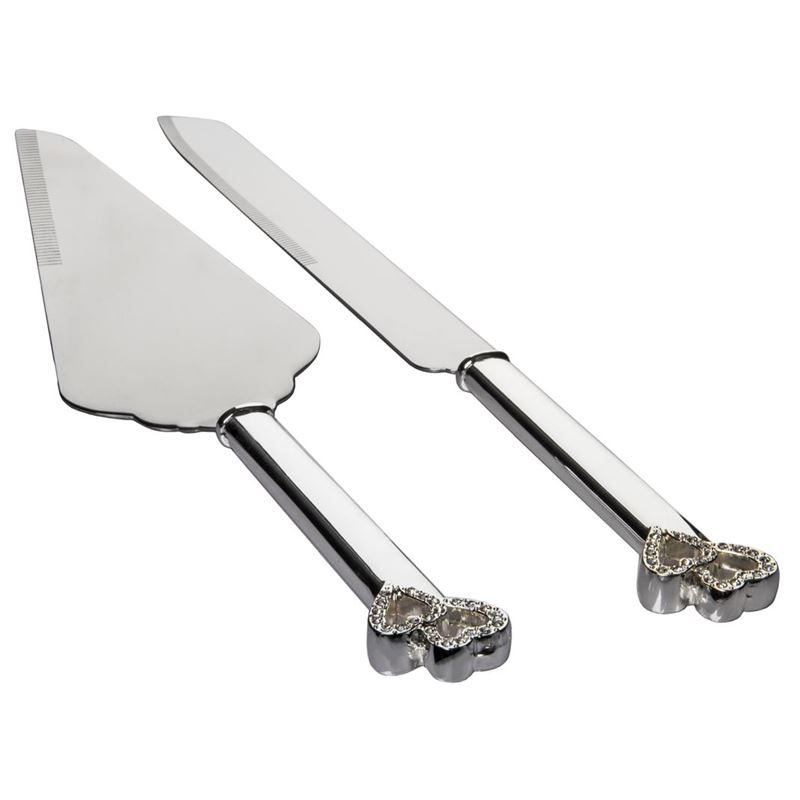 Dan Samuels – Amour Silverplated Cake Knife & Server Set