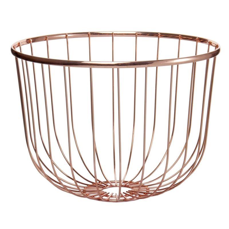 Zuhause – Spun Copper Centrepiece Bowl 30x20cm